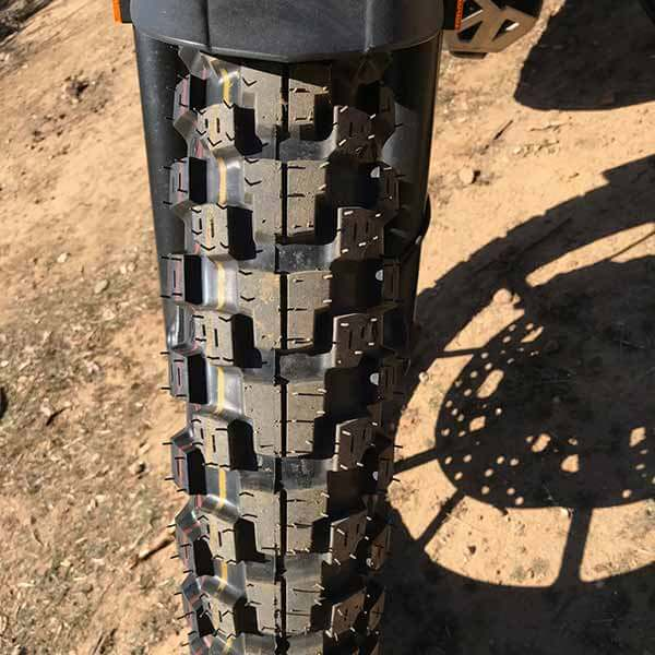 New Motoz Adventure Tractionator Tire Front