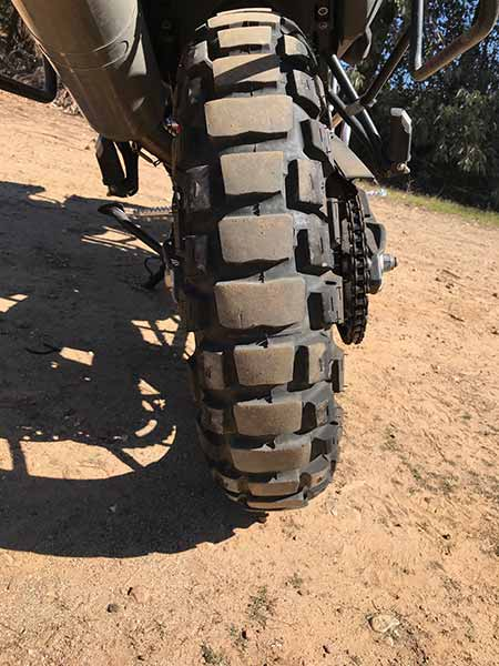 Motoz Adventure Tractionator Rear Tire