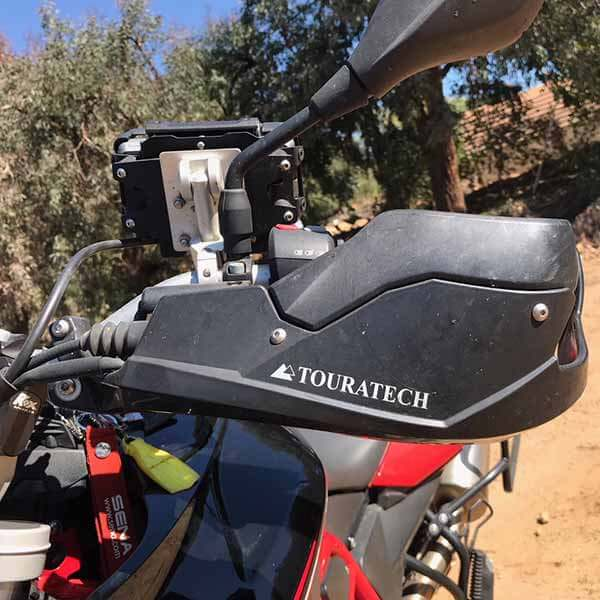 Touratech Handguards and Spoiler