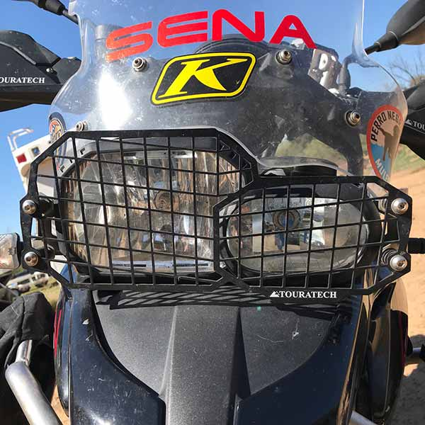 Touratech Headlamp Guard