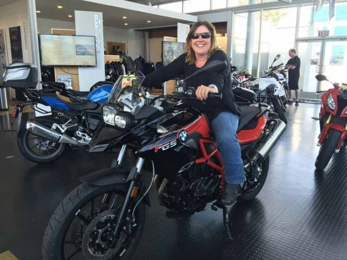 She Rides 2 New BMW F700GS